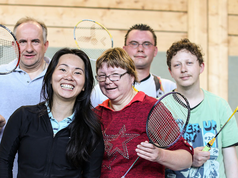 Ehrenamt Agentur Essen Badminton