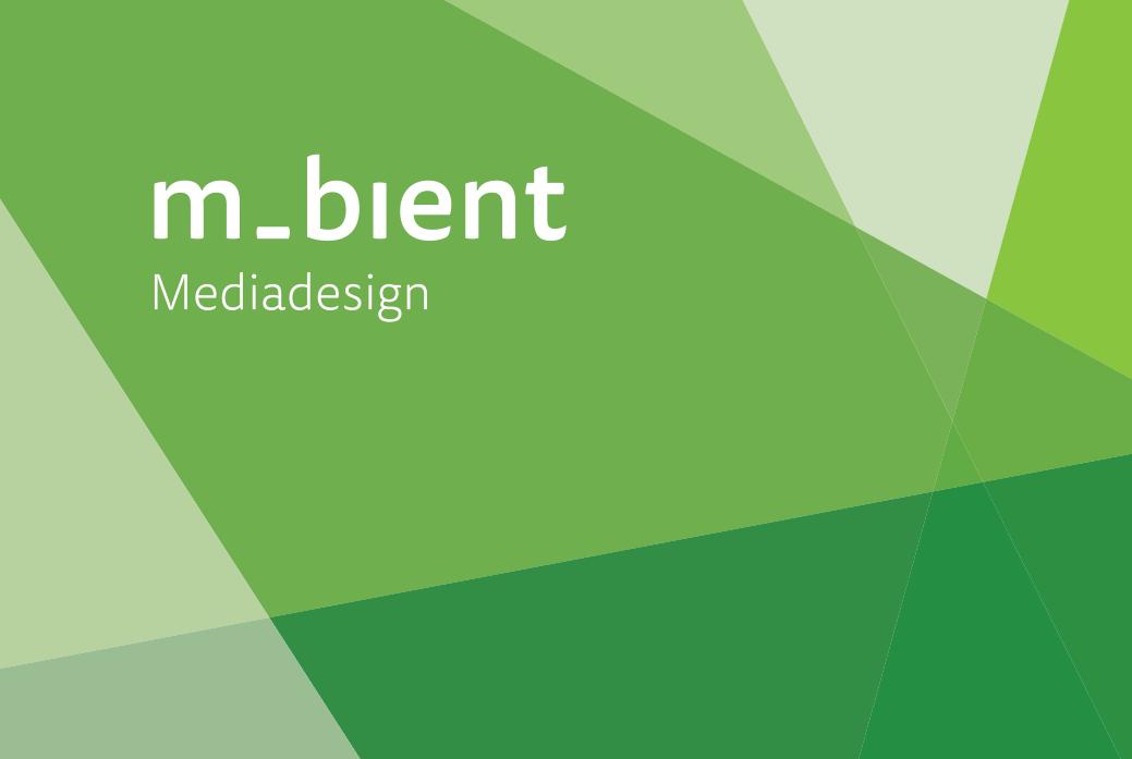 Logo der Internetagentur m-bient Mediadesign