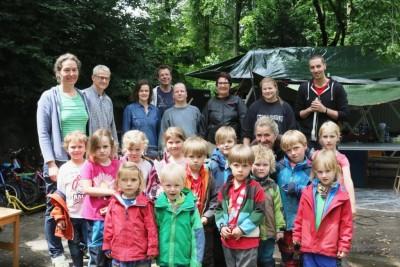 E.ON unterstützt Waldkindergarten 14.06.2016 (Foto Hendrik Rathmann) (5)